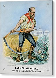 Presidential Campaign, 1880 Acrylic Print by Granger