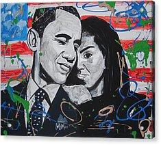 Presidential Love Acrylic Print