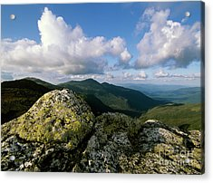 Presidential Range - White Mountains New Hampshire Acrylic Print