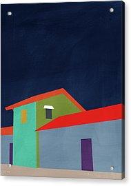 Presidio- Art By Linda Woods Acrylic Print by Linda Woods