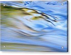 Presque Isle River Rapids Acrylic Print by Dean Pennala