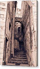 Pretoro - Through Its Ancient Streets Acrylic Print by Andrea Mazzocchetti