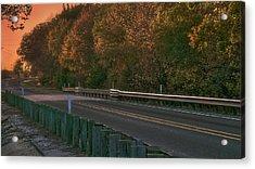 Pretty As The Road Acrylic Print by Philip A Swiderski Jr