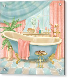Pretty Bathrooms I Acrylic Print