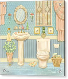 Pretty Bathrooms Iv Acrylic Print