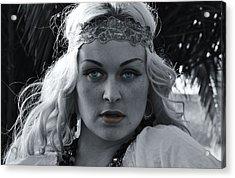 Pretty Blue Eyes Acrylic Print