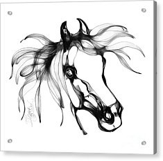 Pretty Filly's Ears Acrylic Print