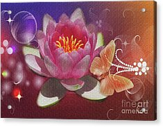 Pretty Items Acrylic Print