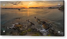 Pretty Klip Point Acrylic Print