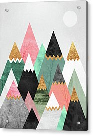 Pretty Mountains Acrylic Print