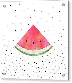 Pretty Watermelon Acrylic Print by Elisabeth Fredriksson