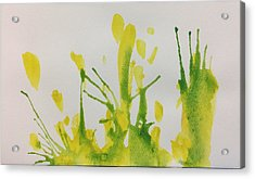 Pretty Weeds Acrylic Print