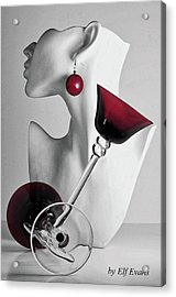 Pretty Woman 3 Acrylic Print by Elf Evans