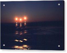 Preventing Sunset Acrylic Print