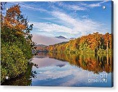 Price Lake Autumn Acrylic Print