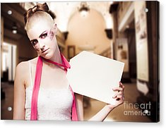 Price Tag Acrylic Print by Jorgo Photography - Wall Art Gallery