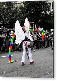Pride Angel 21126 Acrylic Print