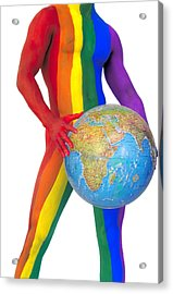 Pride Around The World Acrylic Print by Filippo Ioco