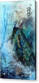 Pride Acrylic Print by Mo T