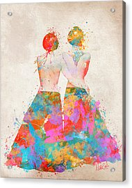 Acrylic Print featuring the digital art Pride Not Prejudice by Nikki Marie Smith