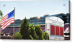 Acrylic Print featuring the photograph Pride Of Athens by Parker Cunningham