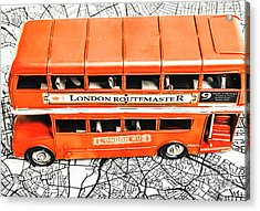 The Pride Of London Acrylic Print