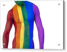 Pride4-3bp Acrylic Print by Filippo Ioco