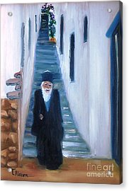 Priest Of Pothia Acrylic Print by Therese Alcorn