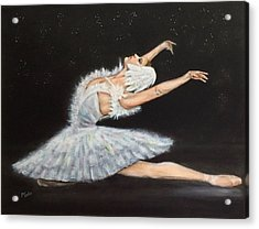 Prima Ballerina Acrylic Print