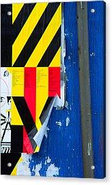 Primaries Acrylic Print by Art Ferrier