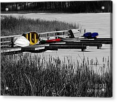 Primary Colors  How Plain Life Could Be Without Acrylic Print