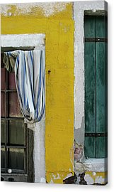 Primary Colours Of Burano Acrylic Print