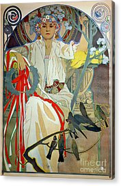 Acrylic Print featuring the photograph Primavera 1914 by Padre Art