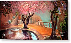 Acrylic Print featuring the painting Primavera by Michael Rock