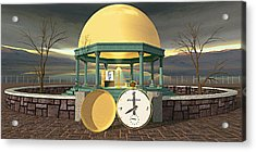 Prime Time Shrine Acrylic Print by Peter J Sucy