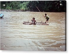 Primitive Journey Acrylic Print by Daniel Young