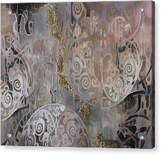Primo Arabesco Acrylic Print by Guido Borelli