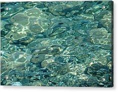 Primordial - Dazzling Vibrant Water Acrylic Print