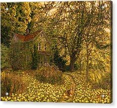 Primrose Path Acrylic Print by Doug Kreuger