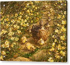 Acrylic Print featuring the painting Primrose Path Il by Doug Kreuger