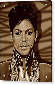 Prince 2 Gold Acrylic Print