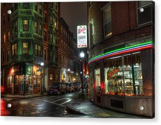 Prince And Salem - North End Boston Acrylic Print