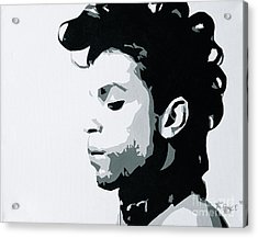 Prince Acrylic Print by Ashley Price