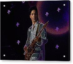 Prince At Coachella Acrylic Print