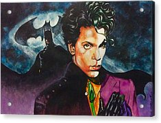 Prince Batdance Acrylic Print