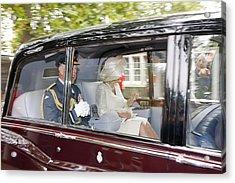 Prince Charles And Camilla Acrylic Print