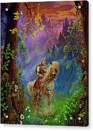 Prince Charming Acrylic Print by Steve Roberts