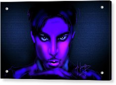 Acrylic Print featuring the painting Prince by DC Langer