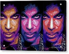 Prince Acrylic Print by Maria Arango