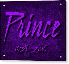 Prince Memorial Acrylic Print